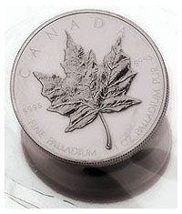 Kanada Maple Leaf Palladium 2009