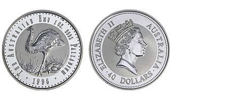 Australia 40 Dollar Emu 1996 Bu