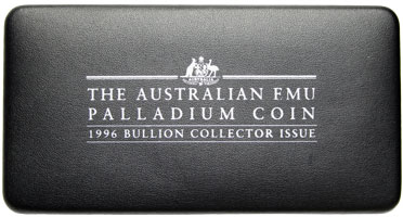 Australia 40 Dollar Emu 1996 Phonecard box