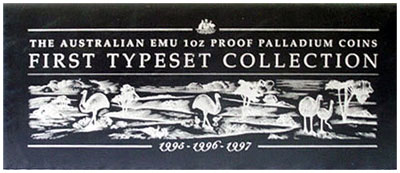 First Typeset Collection Emu Palladium Box